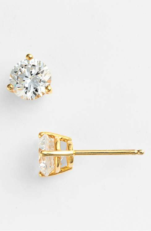 graduation gift idea diamond stud style earrings