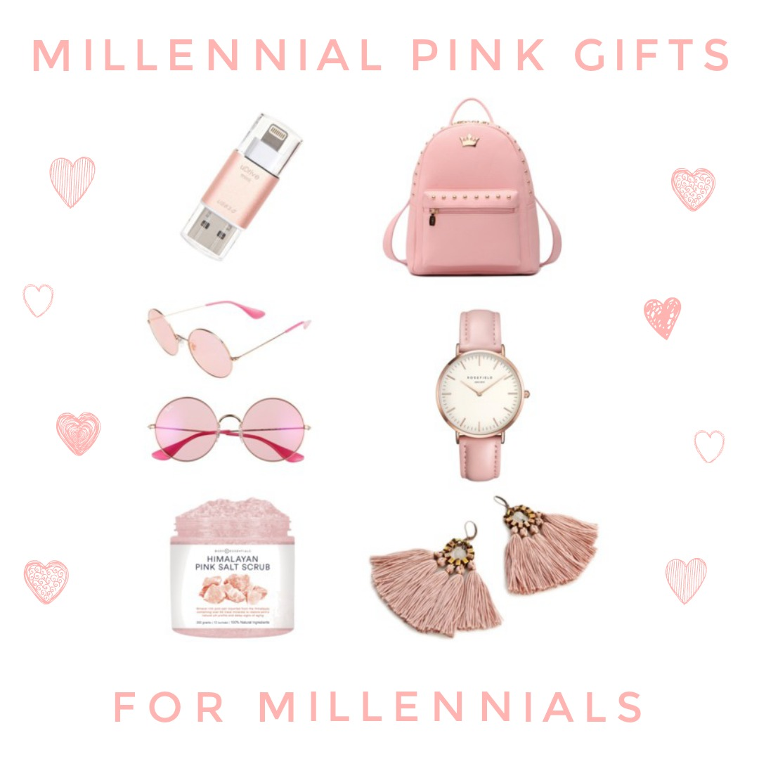 millennial pink gifts for millennials the guided gift