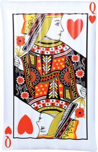 Queen of Hearts Pool Float by Kangaroo $14.95