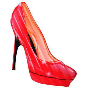 Red High Heel Pool Float