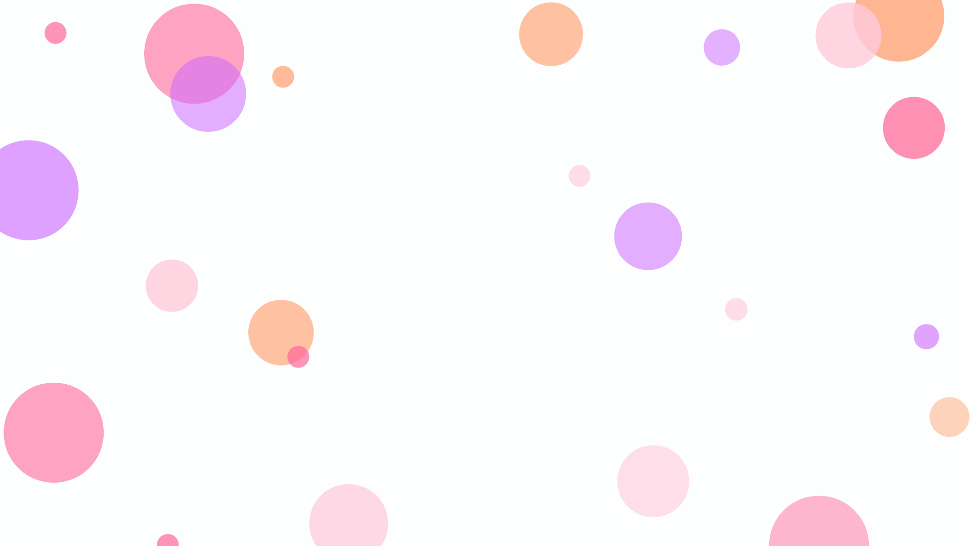 Happy Dots Desktop Wallpaper