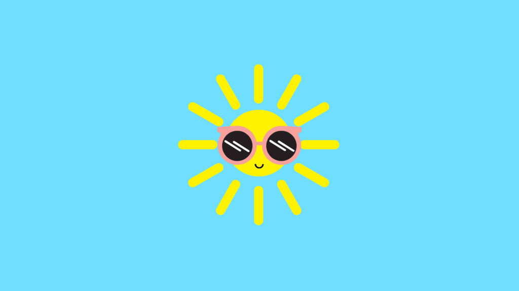 Happy Lil Sun Cute Desktop Wallpapers