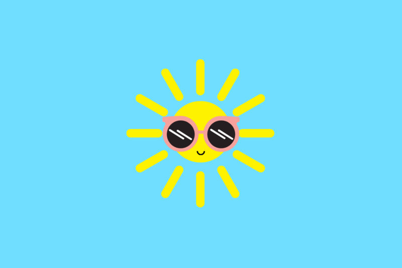 Happy Lil Sun Desktop Wallpaper