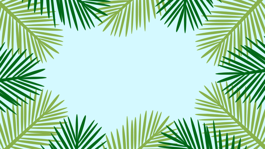 Palm Tree Skies Desktop Wallpaper